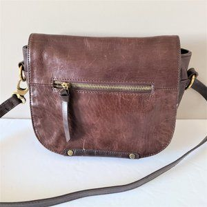 Tignanello Dark Brown Saddle Bag.